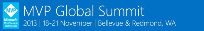 MVP Global Summit – November 2013